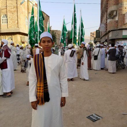 Menyapa Alumni MA Model di Hadro Maut, Yaman