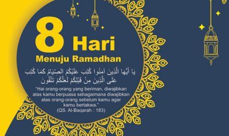 8 Hari Menuju Ramadhan
